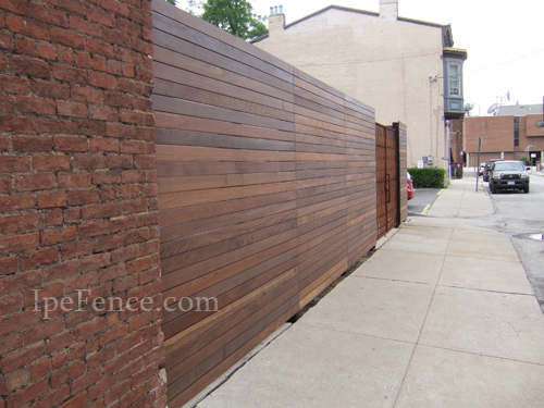 Ipe Fence Photo Gallery