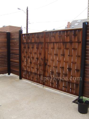 Ipe Fence Photo Gallery